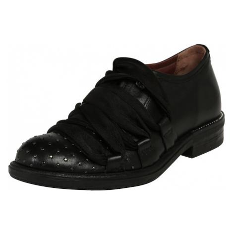 MJUS Buty sznurowane czarny