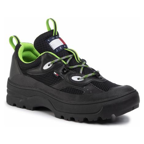Sneakersy TOMMY JEANS - Expedition Shoe EM0EM00379 Black BDS Tommy Hilfiger