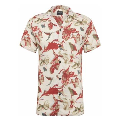 SELECTED HOMME Koszula oliwkowy / czerwony / naturalna biel