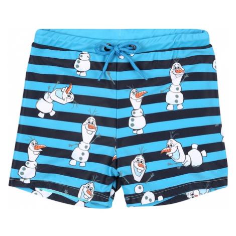 NAME IT Szorty kąpielowe 'Olaf' niebieska noc / aqua