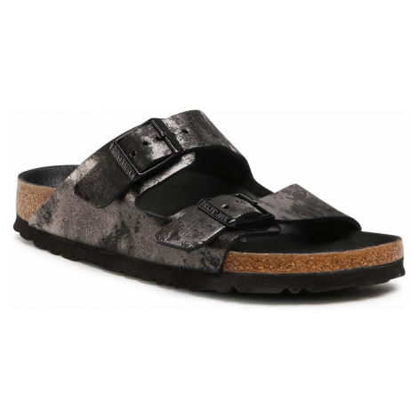 Klapki BIRKENSTOCK - Arizona Bs 1019415 Vintage Metallic Black
