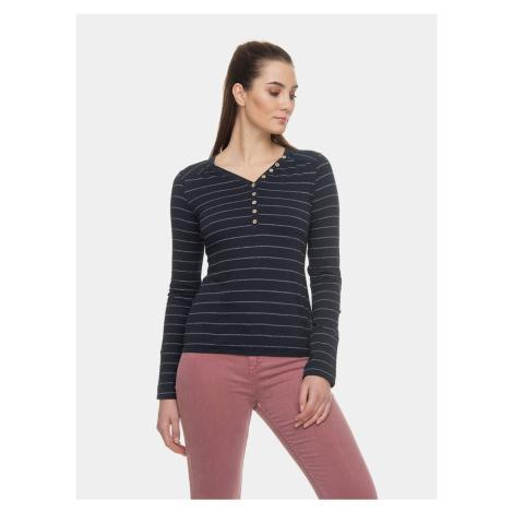Granatowa damska koszulka w paski Ragwear Pinch
