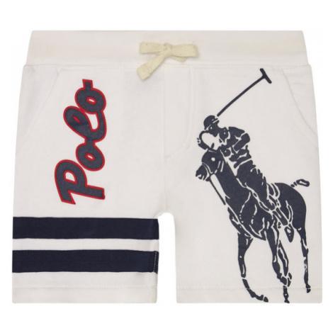 Polo Ralph Lauren Szorty sportowe Summer II 322786438001 Biały Regular Fit