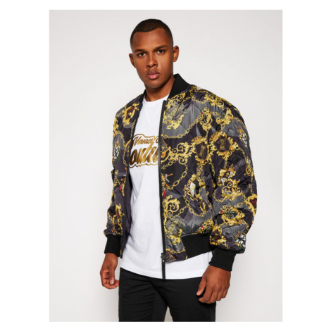 Versace Jeans Couture Kurtka bomber C1GZB9A7 Czarny Regular Fit