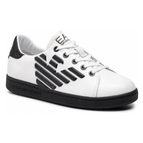 EA7 Emporio Armani Sneakersy XSX006 XCC53 B139 Biały
