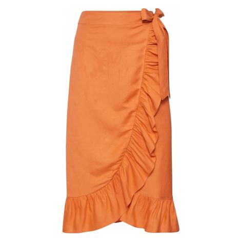 EDITED Spódnica 'Isabeau' pomarańczowy
