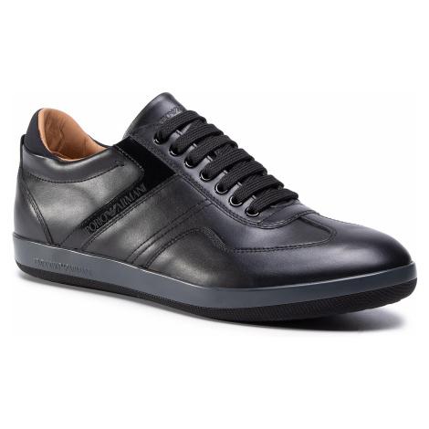 Sneakersy EMPORIO ARMANI - X4C600 XM605 A083 Black/Black/Black