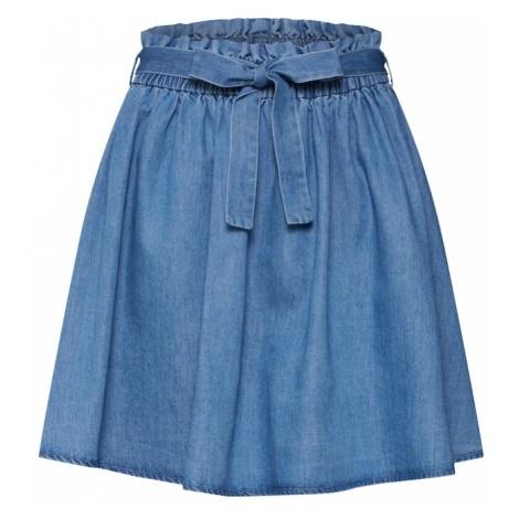 VILA Spódnica 'Eja' niebieski denim