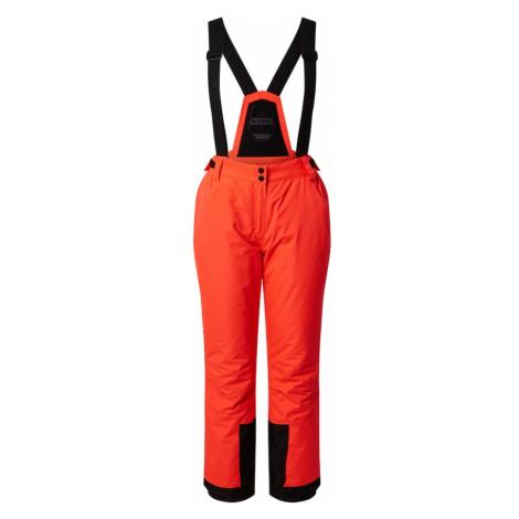 KILLTEC Spodnie outdoor 'Erielle' neonowa pomarańcza / czarny