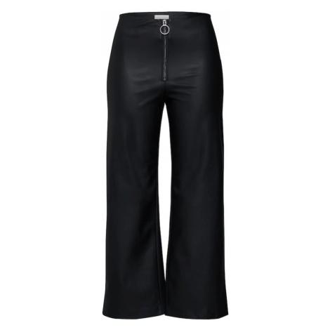 VILA Spodnie czarny