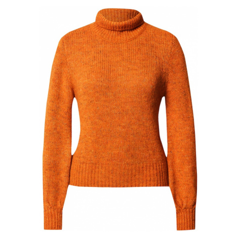 UNITED COLORS OF BENETTON Sweter ciemnopomarańczowy