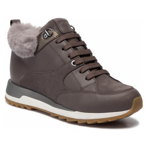 Sneakersy GEOX - D Aneko B Abx B D943FB 08522 C6004 Chestnut