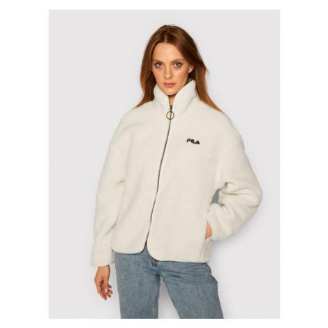 Fila Kurtka przejściowa Sari Sherpa 687980 Biały Regular Fit