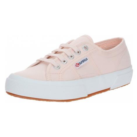 SUPERGA Sneaker '2750 Cotu' różowy pudrowy / biały / brązowy