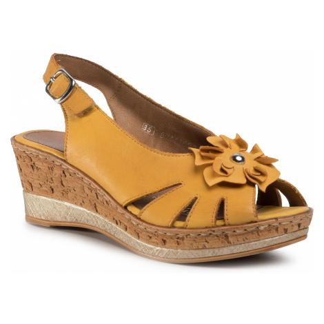 Sandały REMONTE - D4758-68 Gelb