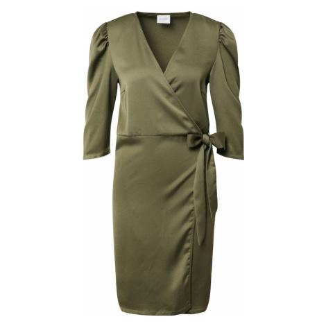 VILA Sukienka oliwkowy