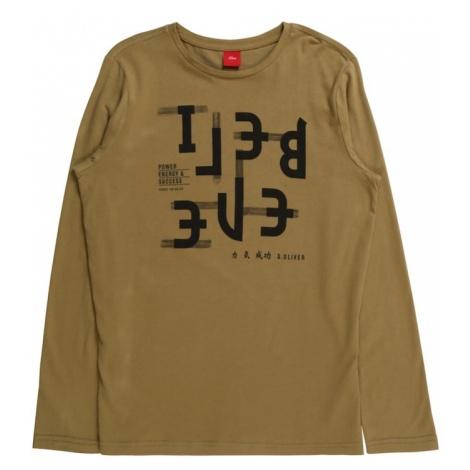 S.Oliver Junior Koszulka khaki