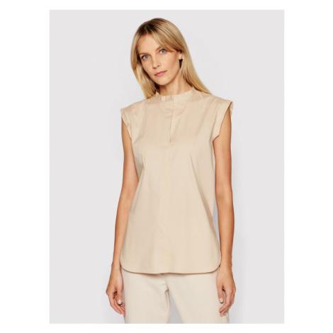 Marella Koszula Orvieto 31910615 Beżowy Regular Fit