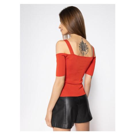 Guess Sweter Sharon W0GR06 Z2NH0 Czerwony Slim Fit