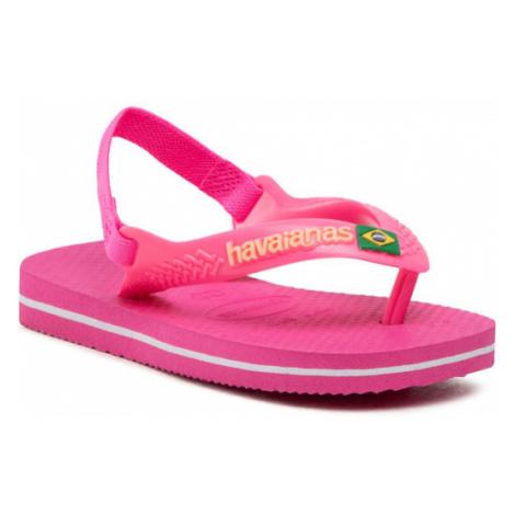 Havaianas Sandały N.B. Brasil Logo Cf 41405775784 Różowy