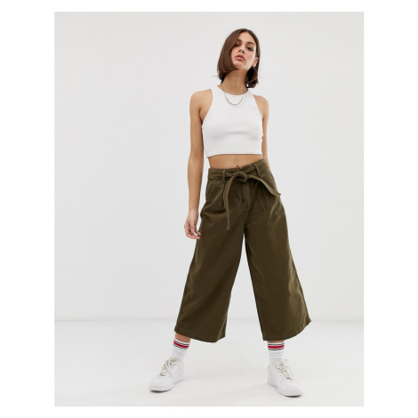 Tommy Jeans utility tie waist culottes Tommy Hilfiger