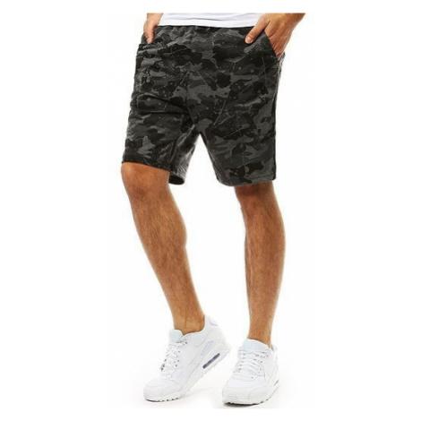 Men's short pants, camo graphite SX0837 DStreet