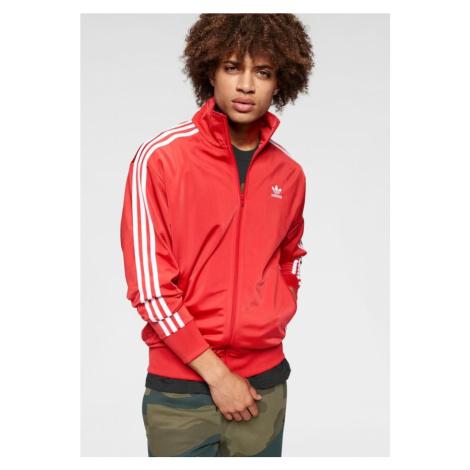 ADIDAS ORIGINALS Bluza rozpinana 'Firebird' czerwony / biały