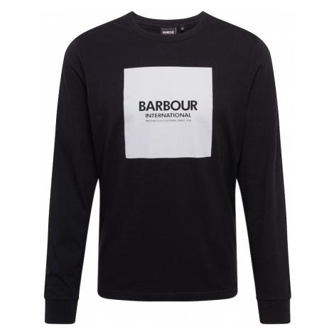 Barbour International Koszulka czarny / szary