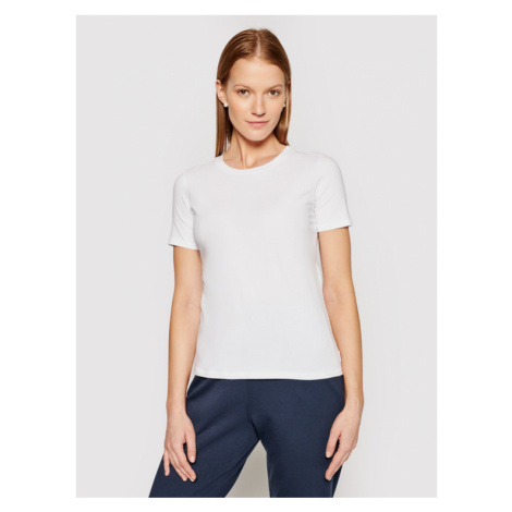 Max Mara Leisure T-Shirt Vagare 39710116 Biały Regular Fit