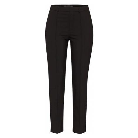 DRYKORN Spodnie w kant 'Act' czarny