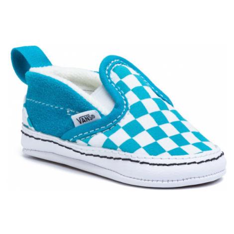 Vans Tenisówki Slip-On V Crib VN0A2XSLW3V1 Niebieski