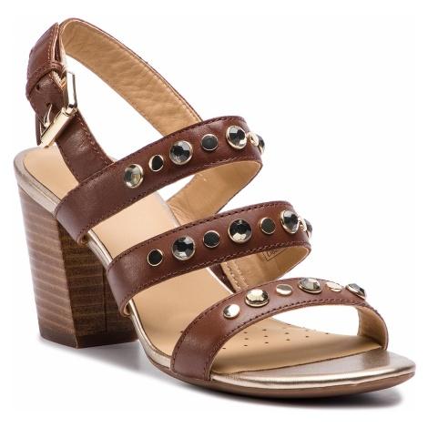 Sandały GEOX - D Eudora H D828ZH 00043 C0013 Brown