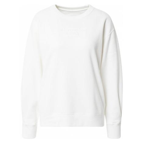 Abercrombie & Fitch Bluzka sportowa biały