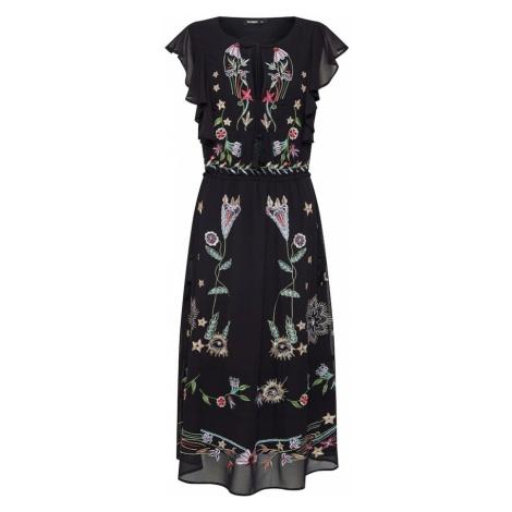 Desigual Sukienka 'VEST_SANDY' mieszane kolory / czarny