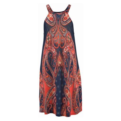 LASCANA Sukienka plażowa czerwony / atramentowy