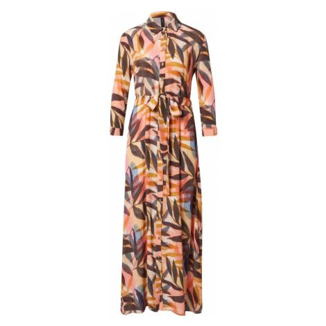 Y.A.S Sukienka koszulowa mieszane kolory / żółty