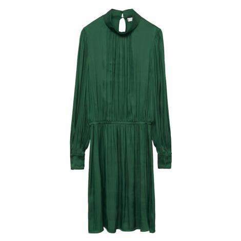 MANGO Sukienka koktajlowa 'banana-i' zielony