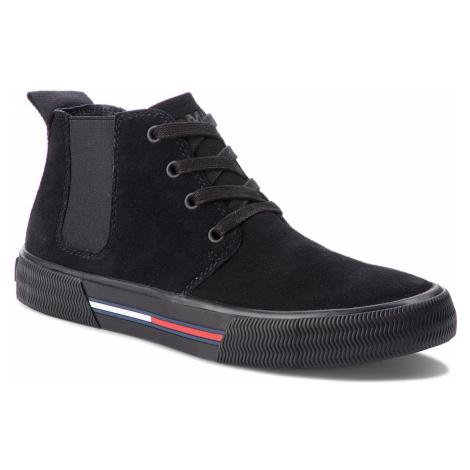 Trzewiki TOMMY JEANS - Chukka City Sneaker EM0EM00127 Black 990 Tommy Hilfiger