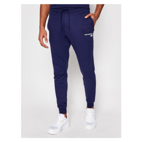 New Balance Spodnie dresowe C C F Pant MP03904 Granatowy Athletic Fit