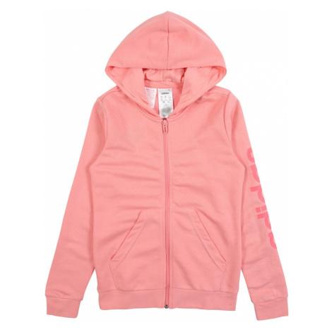 ADIDAS PERFORMANCE Bluza rozpinana sportowa różowy / morelowy