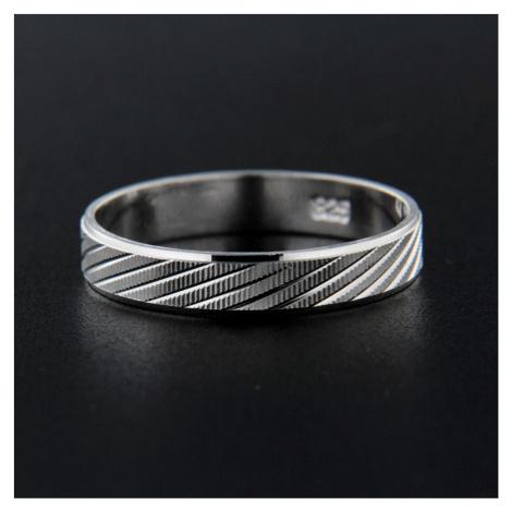 Pierścionek srebrny 13838