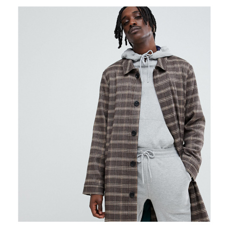 The New County mac jacket in check