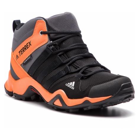 Buty adidas - Terrex Ax2r Mid Cp K AC7977 Cblack/Cblack/Hireor