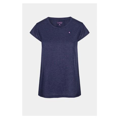 Damski niebieski T-shirt LOAP Bradla