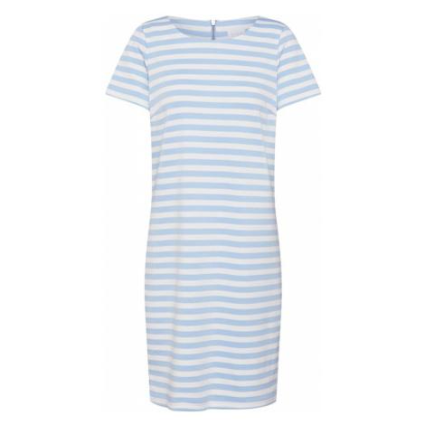 VILA Sukienka 'Tinny' jasnoniebieski / biały