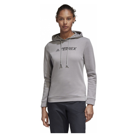 Bluza damska adidas Terrex Graphic Logo Hoodie GL6116