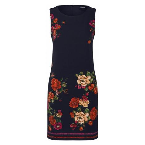 Desigual Sukienka etui 'VEST_LENCY' mieszane kolory / czarny
