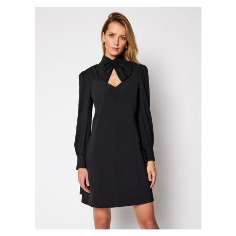 Marciano Guess Sukienka koktajlowa Blanche 0BG726 9373Z Czarny A-Line Fit
