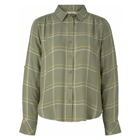 TOM TAILOR Bluzka zielony / biały / żółty