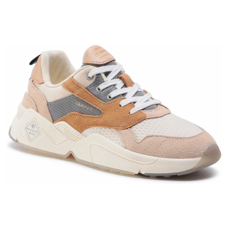 Sneakersy GANT - Nicewill 20533687 Macadamia Beige/Gray G1166